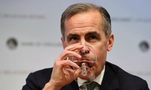 Bank of England governor Mark Carney.