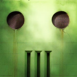 Green mindAn air vent stares me out Photograph: Simon Bleasdale/GuardianWitness