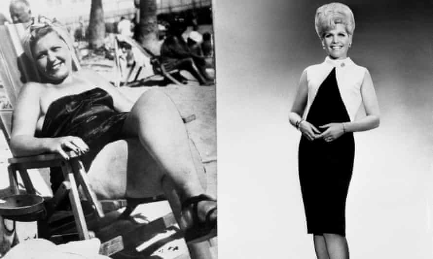 Before and after photos of Jean Nidetch, the founder of Weight Watcher, c1965.