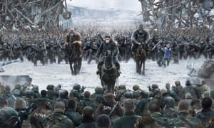 Heavy … War for the Planet of the Apes.