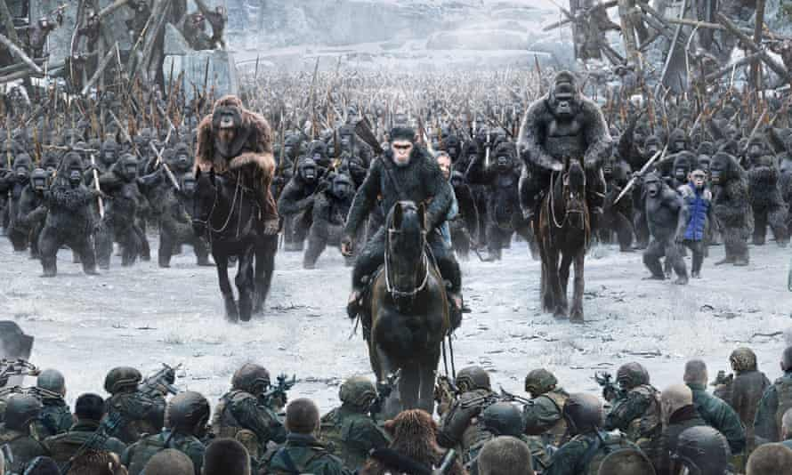 Best visual effects … War for the Planet of the Apes.