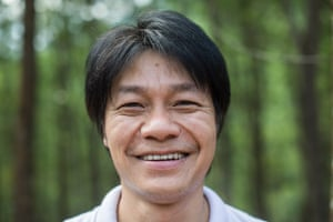 Vu Nguyen, project manager for sustainable bamboo, ratan and acacia, WWF-Vietnam.
