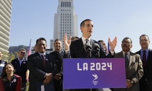 LA Olympics bid leader appears to concede 2024 Games to