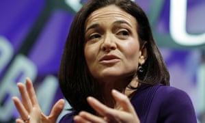 Facebook Chief Operating Officer Sheryl Sandberg speaks during a forum in San Francisco