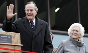 George HW Bush was expected to go home in a couple of days.