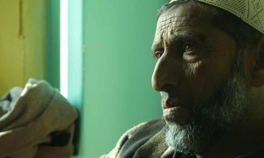 Ghulam Mohammad Lone, father of Zubair Ahmad, 22, who was killed by the Indian army.