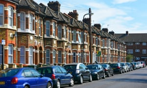 Terraced streets in Newham.