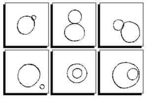 Bongard problem by Douglas Hofstadter.