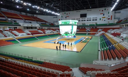 The action will begin at the Ashgabat Olympic Complex on Sunday.