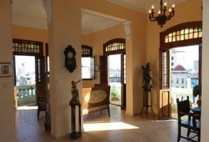 Interior of Casa Almson, Havana