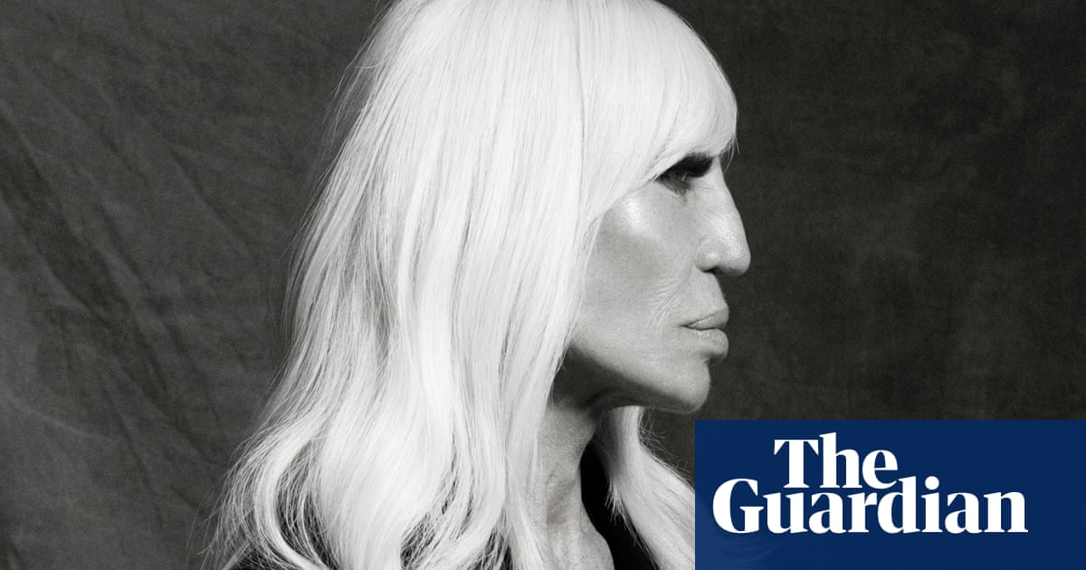 Donatella Versace My Brother Was The King And My Whole World Had