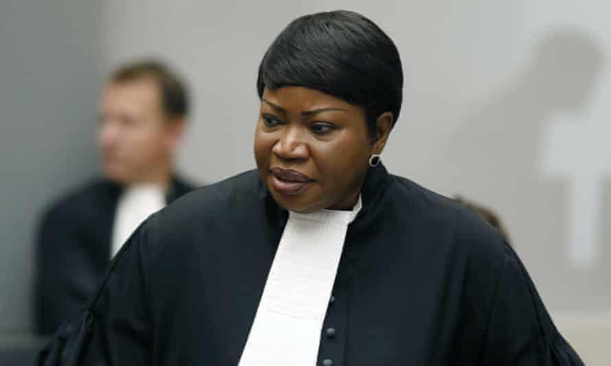 Fatou Bensouda, the outgoing ICC prosecutor