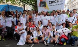 Crick scientists