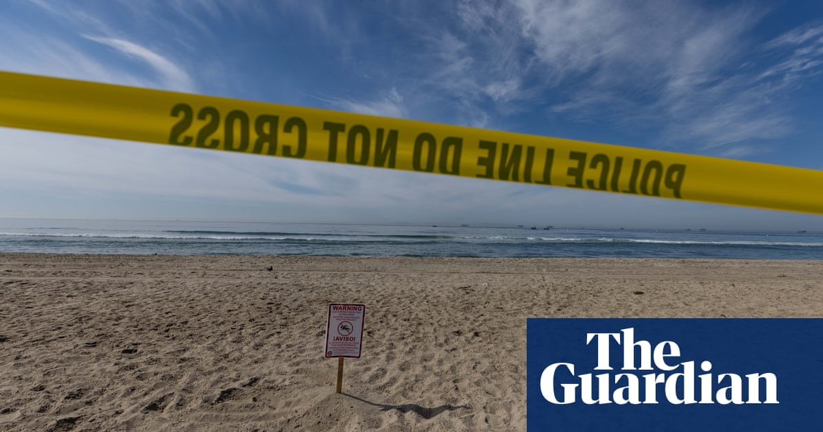 'There's tar everywhere': large California oil spill fouls beaches and kills wildlife