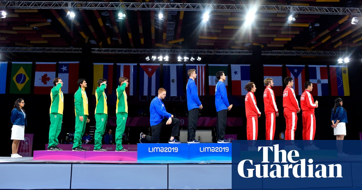 US Olympic officials reprimand but dont punish Pan-Am Games protesters