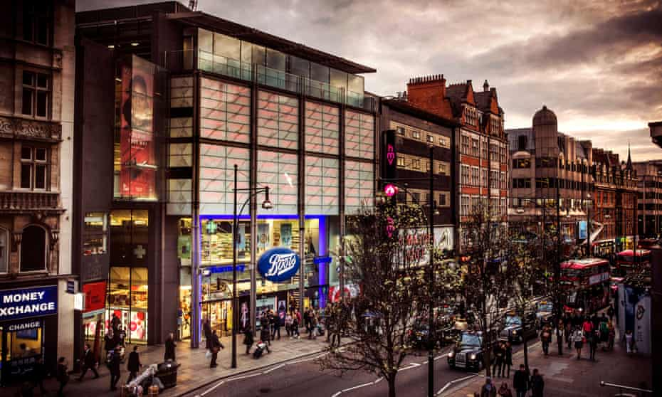Boots flagship store, Oxford Street, London