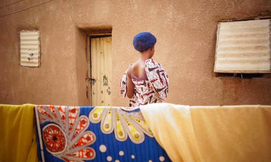 One of Agadez's 'connection houses' where middlemen put migrants in touch with people smugglers.