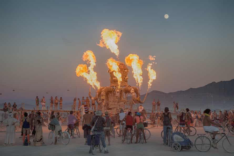 The annual Burning Man festival is held in the Black Rock Desert, which is managed by the BLM