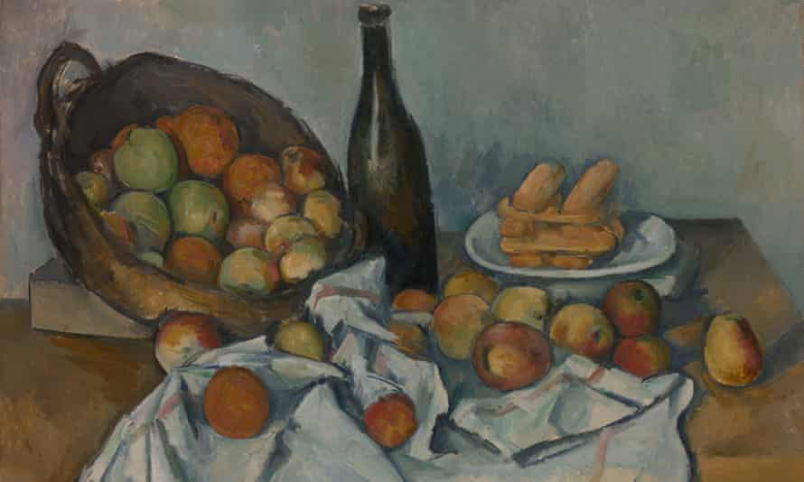 The Basket of Apples c1893 will be part of the Cézanne exhibition at Tate Modern.