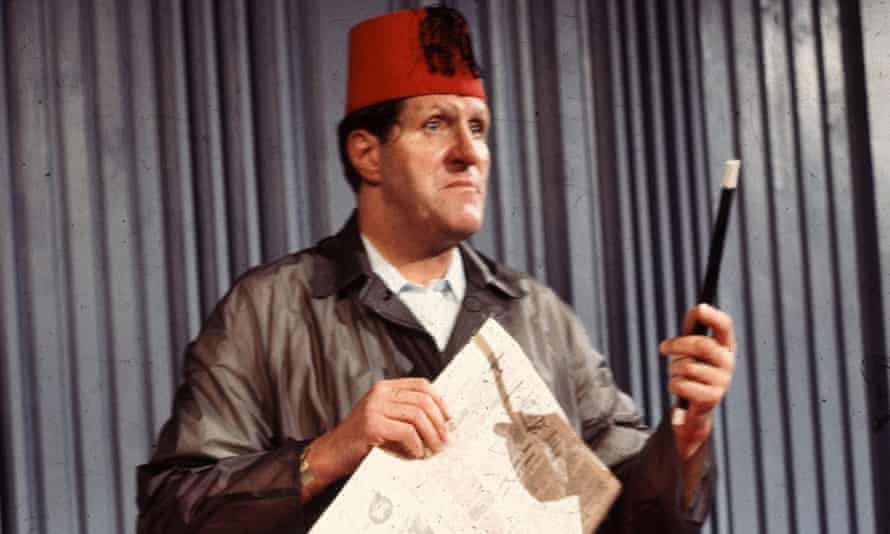 Why do magicians' wands always look just like that? Tommy Cooper in action. Photograph: Fremantle Media/Rex/Shutterstock