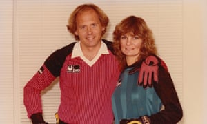 Dr Joe and his wife Barbara in 1983. 'My first television game of any significance was the Tottenham-Leicester City FA Cup final on the Wide World of Sports in 1961.'