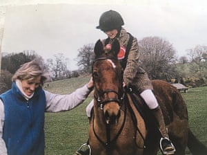 Lissa Green with her mother Lucinda in 2002.