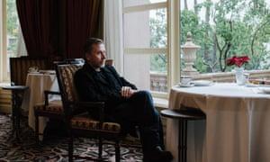 Tim Roth at the Langham Huntington hotel