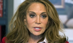 Rightwing blogger Pamela Geller, another prominent US Robinson supporter.