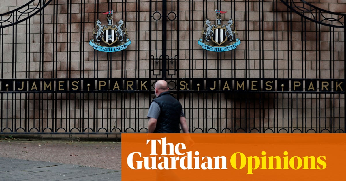 Newcastle are not selling their soul to the Saudis. There is no soul left