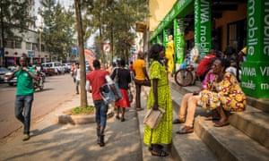A different approach … Rwanda's capital, Kigali.