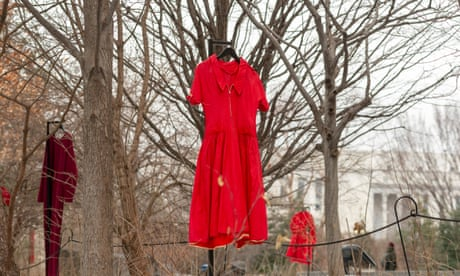REDress exhibit highlights epidemic of missing and murdered indigenous women