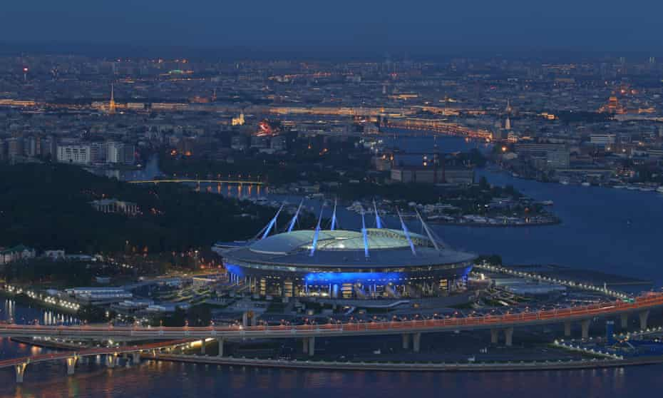 Zenit St Petersburg would cut down on their travel if they joined the Estonian top flight.