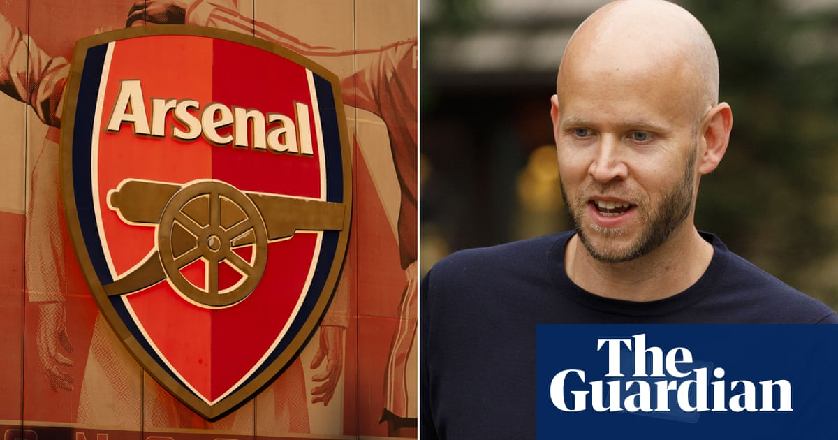 Daniel Ek says he has funds for Arsenal takeover and wants return of glory days