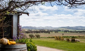 The scenic grounds of Zin House restaurant in Mudgee