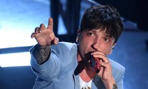 The Italian singer Ultimo