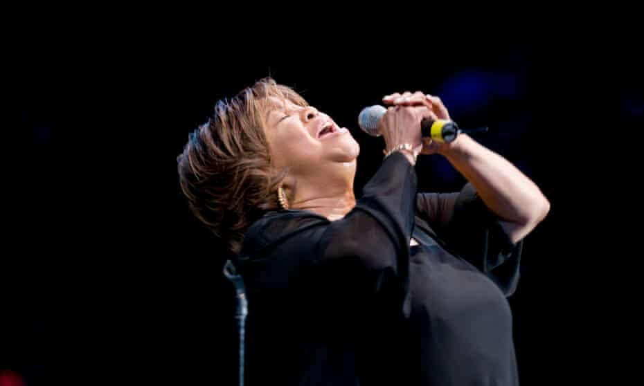 Mavis Staples At SummerStageAmerican Gospel and Soul singer Mavis Staples headlines the opening night of the Central Park SummerStage's 2008 season, New York, New York, June 13, 2008. (Photo by Jack Vartoogian/Getty Images)