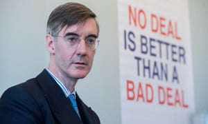 Jacob Rees-Mogg 'was basically calling for a no-deal', according to those who attended the meetings with the PM.