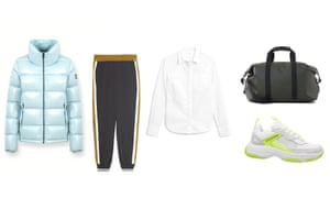Jacket, £530, colmar.it Sweatpants, £19.99, zara.com, etc
