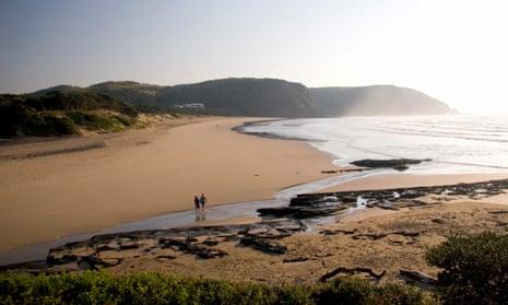 Coffee Bay beach, South Africa