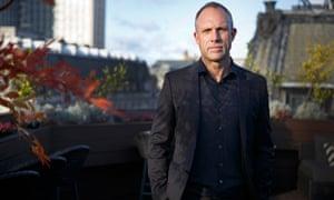 David Moss, the former head of football operations at Huddersfield Town, photographed at the Aqua Kyoto bar in London.
