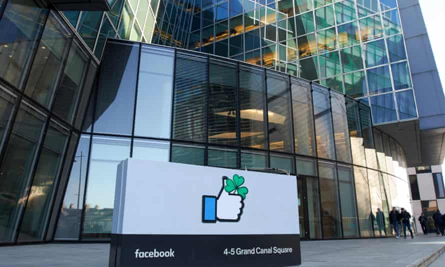 Facebook's Ireland headquarters building in Dublin. Workers have been forced to work in the office throughout Ireland's high-tier lockdown.