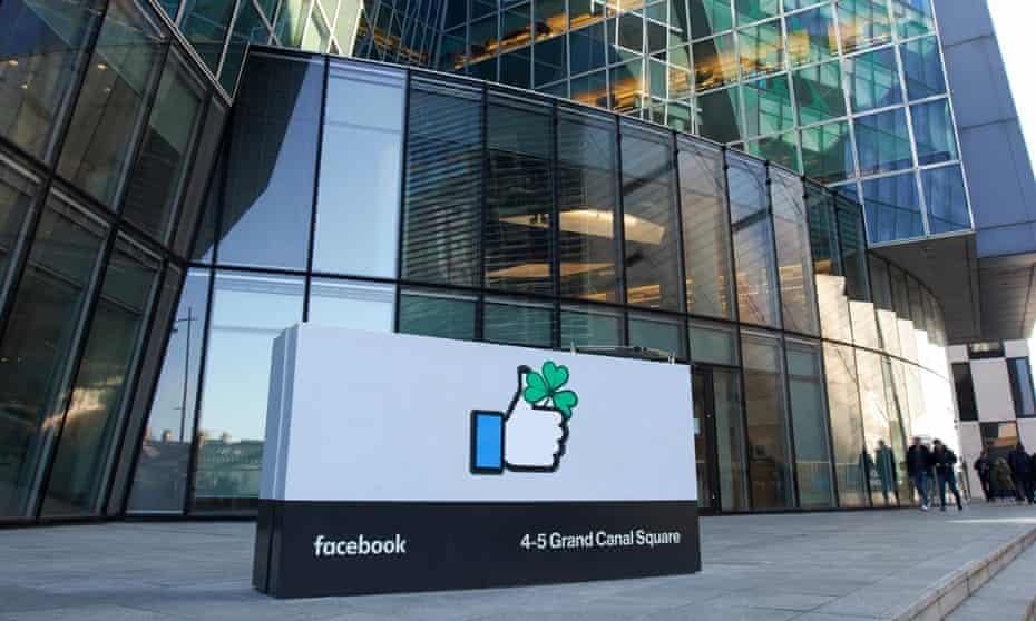 Facebook's Dublin headquarters.