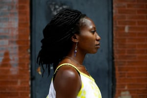 Amara Enyia, a public policy consultant, in Chicago.