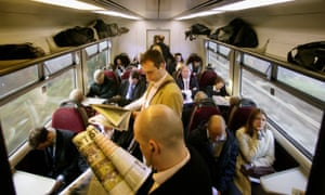 Commuters Struggle With Over Crowding On Train
