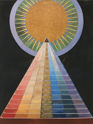 Wonderful energy … Hilma af Klint's Altarbild, 1915.