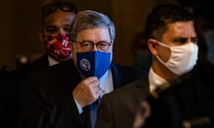US attorney general Bill Barr has authorised investigations into voter 'fraud'.