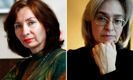 Natalia Estemirova and Anna Politkovskaya.