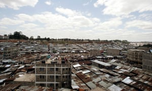 The sprawling Mathare slums in Nairobi: most African cities 'devote only 10% of their land' to public and street space.