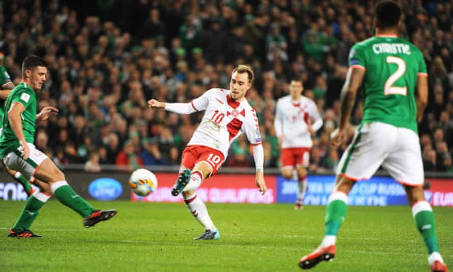 Eriksen had received plenty of plaudits after his brilliant hat-trick helped Denmark to a 5-1 win against the Republic of Ireland in Dublin.
