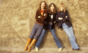 41 years … Neil Peart, Geddy Lee and Alex Lifeson of Rush.
